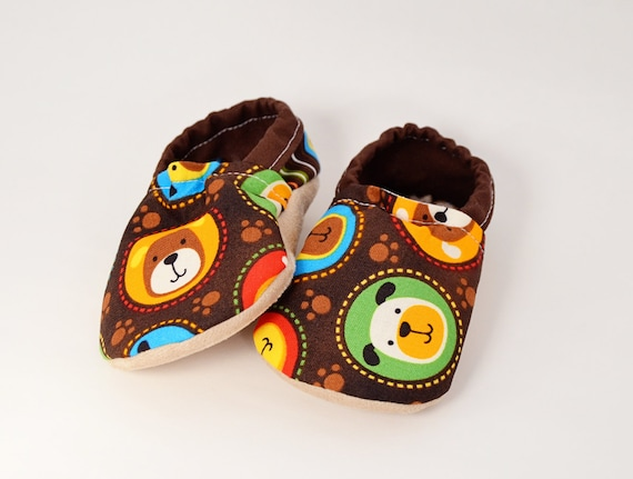 Fetch Dogs Bison Booties Size 18 to 24 Months baby cloth shoes slippers bootys Ready to Ship vegan