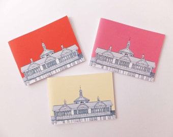 SALE Set of 3 Travel Journals, Dunoon Notebooks, Handbag Notebooks, Small notepads, Handbag Notebooks