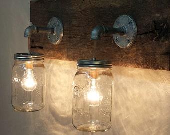 Barn wood vanity | Etsy