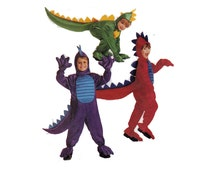 "Children's Costume Sewing Pattern DRAGON or DINOSAUR Hallowe'en Costume Size 5-6 Breast 24-25"" (61-64 cm) McCalls 8333 - S"