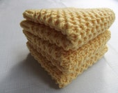 3 Pcs Knitting  Dishcloths...Knitting Wash cloth..Knitting Pattern ...Knitting bath and beauty...Knitting Kitchen Cleaning