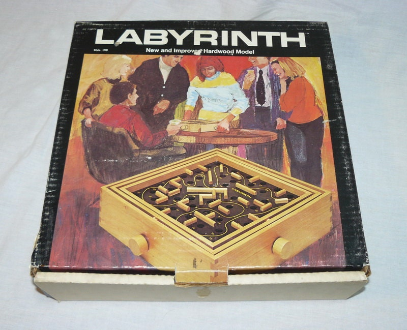 labyrinth card game instructions