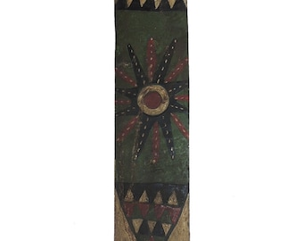 Zulu Painted Mat Holder Ibhaxa South African  87770