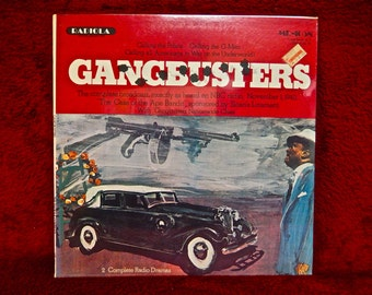 GANGBUSTERS - as Heard on NBC Radio, November 1,1940 - Vintage Vinyl Record Album
