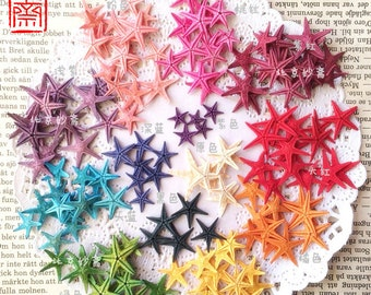 20pcs 1-2cm  Dying Nature Starfish