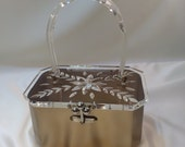 Reserve for Bianca...Vintage Charles S. Khan 1950's Lucite Purse