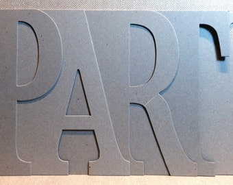 PARTY Chipboard Album 5.5 high x 12 inches long