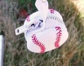 Baseball Masquerading Macaroon in Custom Colors