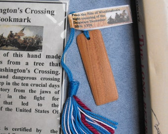 Washington Crossing Bookmark