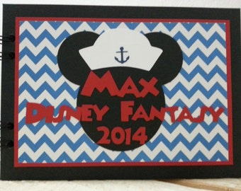Personalized Disney Cruise Autograph Book