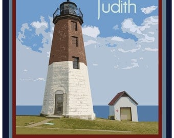Point Judith Travel Poster