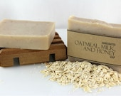 Oatmeal, Milk and Honey Soap, Handmade, Cold Process Soap