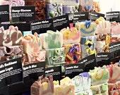 Handmade Artisan Soap Sampler Pack