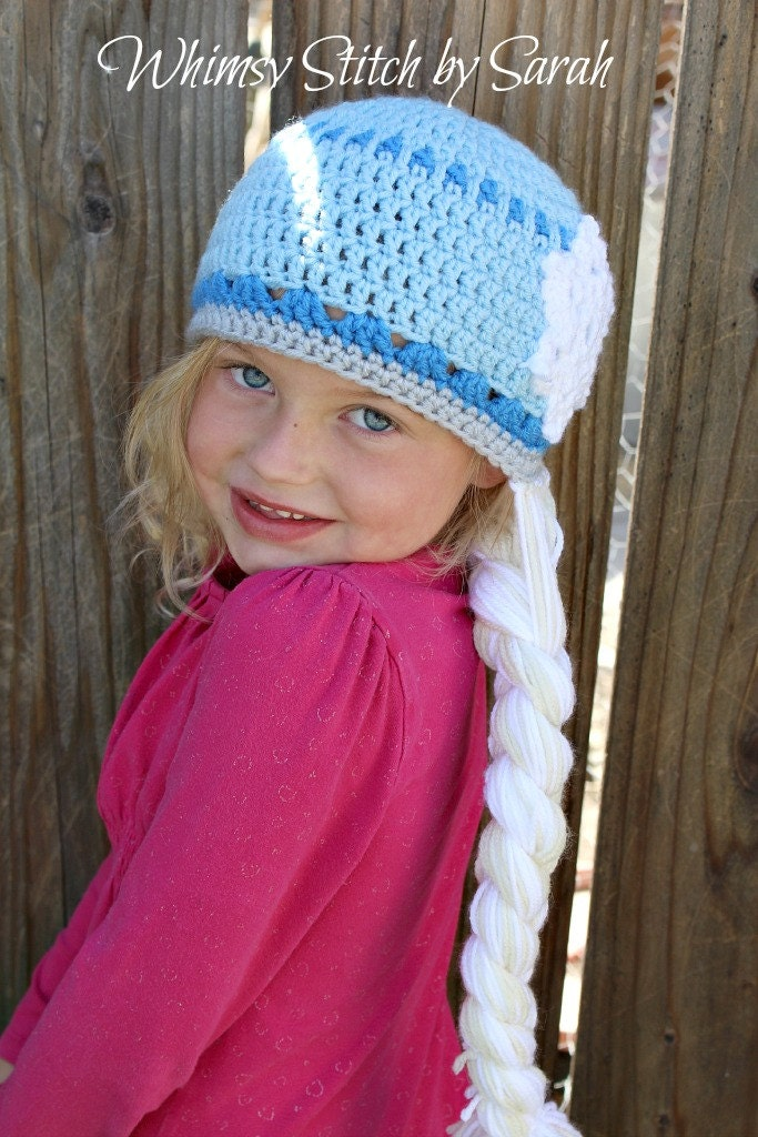 Crochet Hat Pattern For Elsa : Alfa img - Showing > Elsa Crochet Hat