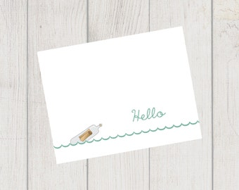 Message in a Bottle Note Cards