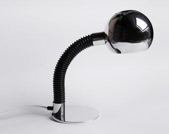 Vintage Dutch Industrial Desk Lamp  - HALA 60s