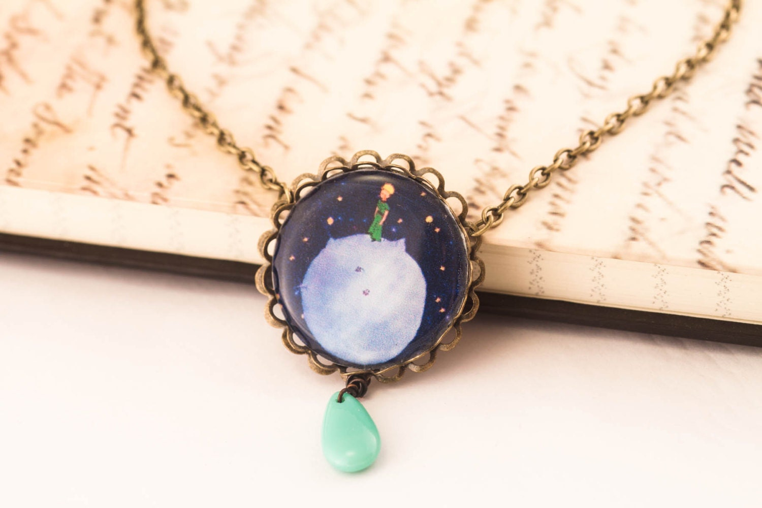 the little prince necklace the little prince jewelry le