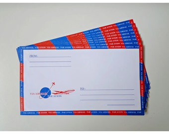 Air mail envelopes