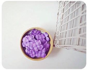30 Hydrangea petal Grapes  / pack