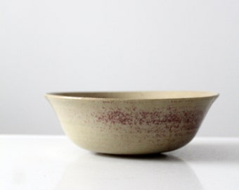vintage studio pottery bowl, ceramic bowl