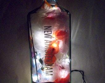 New Amsterdam Vodka Bottle Bar/Table Lamp
