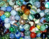Vintage Marbles, Wholesale Lot, 100 marbles, Mostly 1950's-1990's