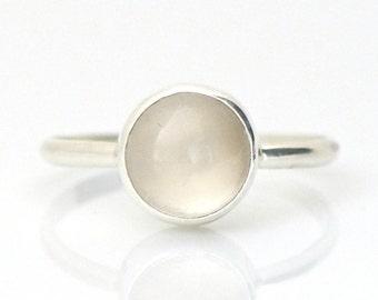 Moonstone Ring in Sterling