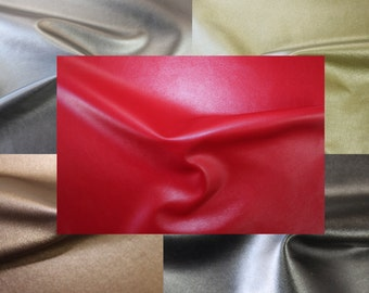 "56"" Wide Faux Leather 2-Way Stretch Faux Leather Fabric"