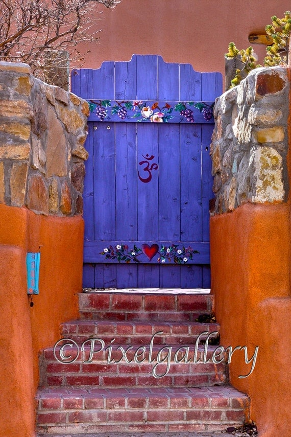 Items similar to santa fe purple gateway purple and for Orange and purple walls
