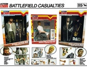 Action Man: Battlefield Casualties (A3 Poster and Boxed Originals)