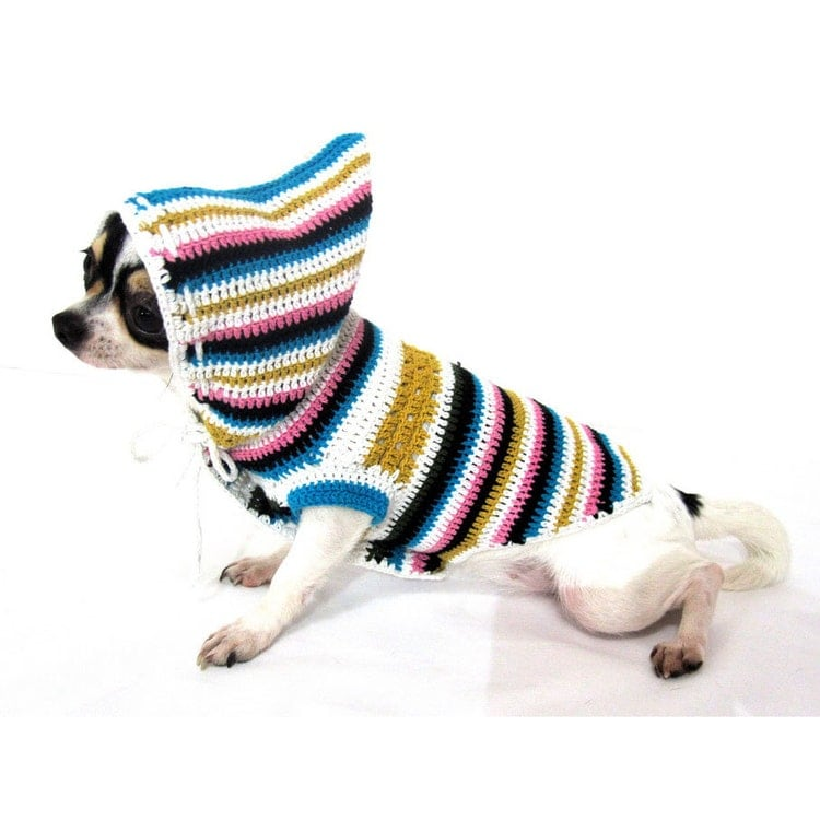 Free Crochet Patterns For Chihuahua Sweaters Traitoro For