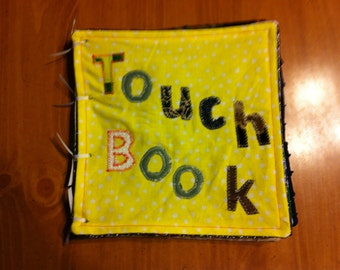 Touch Texture Book for Sensory Activity