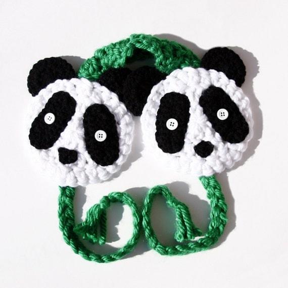Giant Panda Earmuffs