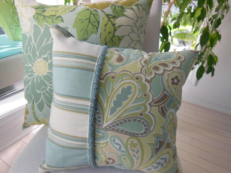 Decorative Pillow Hampton Bay Beach Pillow 15 x 15