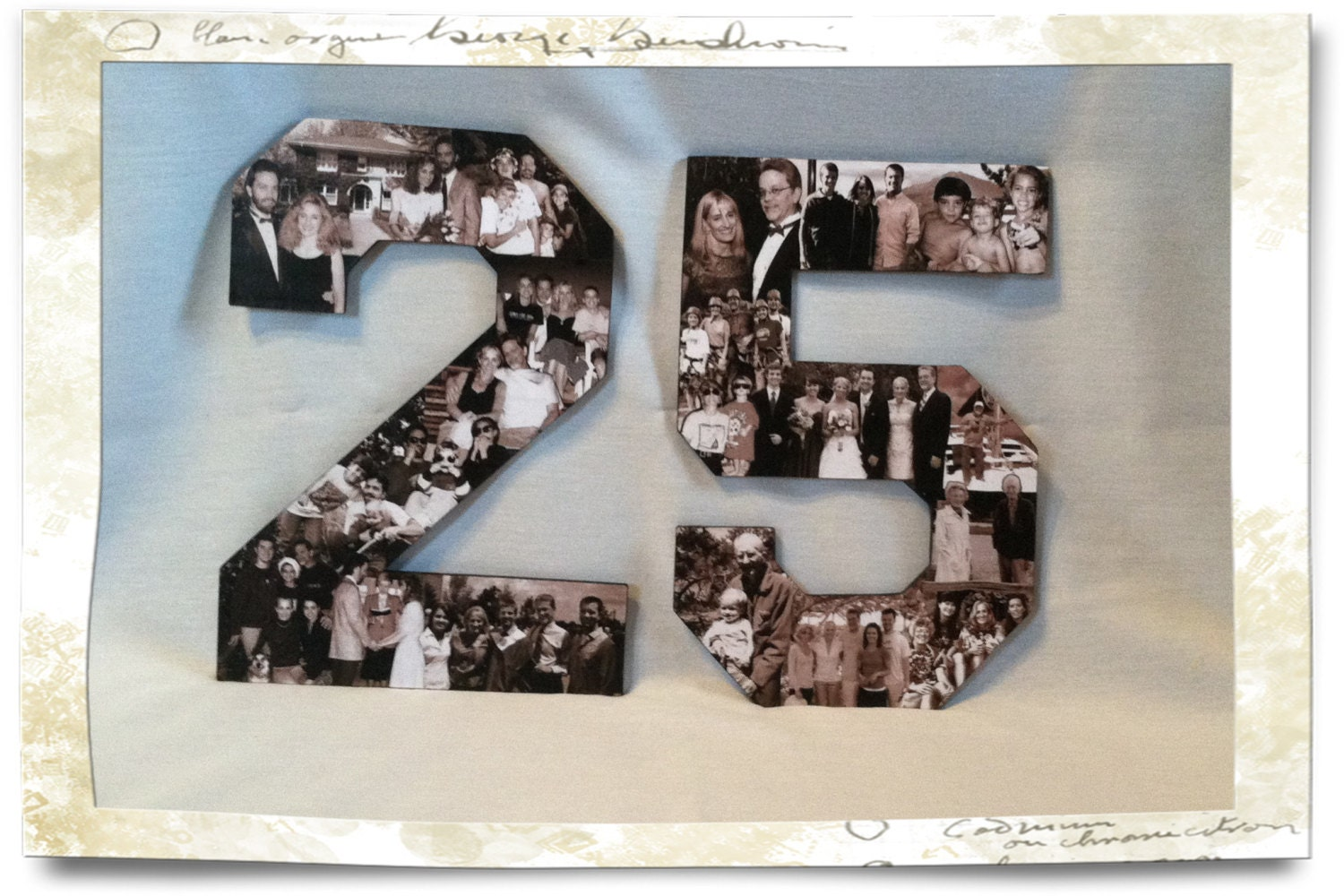 Good Gifts For 25th Wedding Anniversary: 25th Anniversary Collage 25th Wedding Anniversary Collage