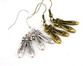 Tiny Ballet Slippers Shoes Dangle Earrings - CP004/005