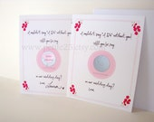 Scratch-Off Card: Reveal role Will you be my Bridesmaid, Maid of Honor, Matron of Honor card, wedding party, proposal, invitation