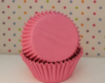 Baby Pink Cupcake Liners / Light Pink Baking Liners / Supplies / Cups