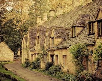 "England landscape, travel photography, large art print - ""Arlington Way"""