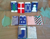 Plastic Canvas ID/Gift Card Holder