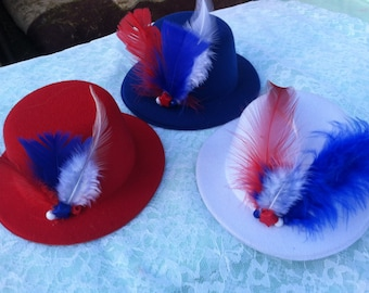 4th of July Top Hats For Dogs