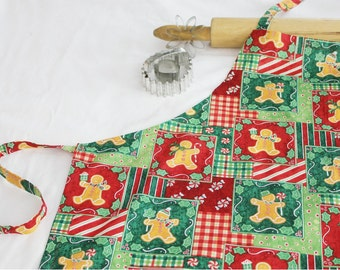 Gingerbread Cookies Adult Apron