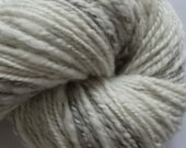 handspun, undyed Shetland wool / DIEGO / 8 oz / approx 220 yards / bulky weight