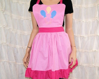 Inspired By My Little Pony Pinkie Pie Cosplay Kitchen Apron MTCoffinz