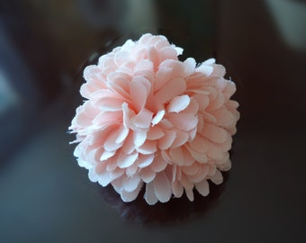 F-566. satin corsage - Pink color