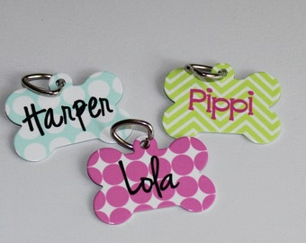 Dog Tag with Name - Custom Pet Tag