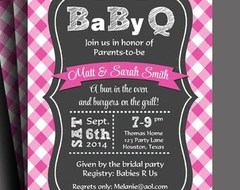 Baby q invitation | Etsy