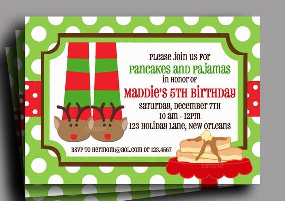 Pajama Party Invitation Free Printable Orderecigsjuice Info