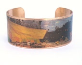 Van Gogh Cafe Terrace at Night cuff bracelet