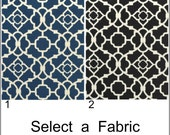 Waverly Lovely Lattice Designer Modern Curtain Valance Kitchen Valance Custom Valance 52x12 52x14  52X16  52X18